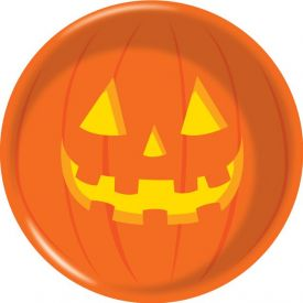 Halloween Pumpkin Plastic Bowl 6
