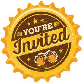 Cheers & Beers Invitation Pscd
