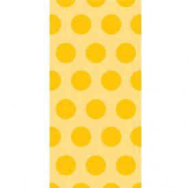 Decor Cello Bags - Two Tone Schl Bus Yellow Dot