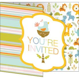Happi Jungle Invitation Gatefold