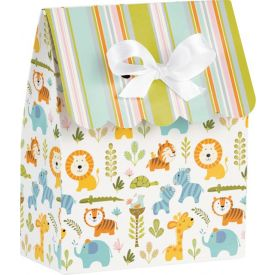 Happi Jungle Favor Bags with Ribbon
