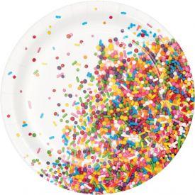 Sprinkles Luncheon Plate