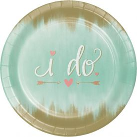 Mint to Be Banquet Paper Plates 10.25