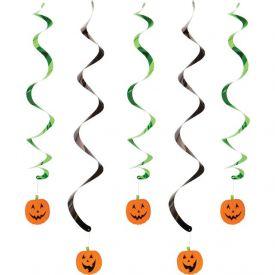 Pumpkin Faces Dizzy Danglers