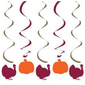 Pumpkins/Turkey Dizzy Danglers