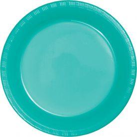 Teal Lagoon Prem Pl Banquet Plates