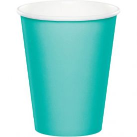 Teal Lagoon Hot/Cold Cups, 9 oz.