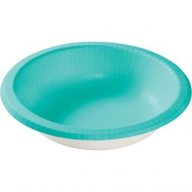 Teal Lagoon Paper Bowls 20 oz.