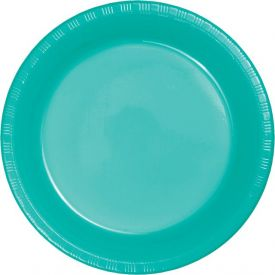 Teal Lagoon Prem Pl Luncheon Plates