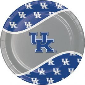 University of Kentucky Paper Dinner Plates 9