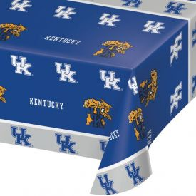 University of Kentucky Table Covers Plastic 54