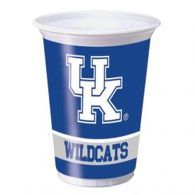 University of Kentucky Plastic Cups, 20 Oz