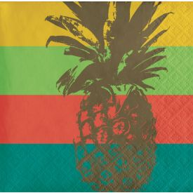 Havana Beverage Napkin, Pineapple