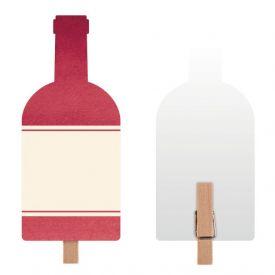 Sip Sip Hooray Food Marker w/Mini Clothespin