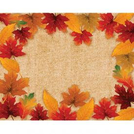 THANKSGIVING FALL LEAVES DÉCOR PLACEMATS