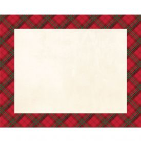 DÉCOR PLACEMATS, HOLIDAY PLAID