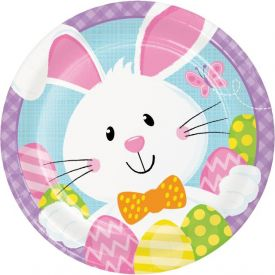 BUNNY BUSINESS APPETIZER OR DESSERT PLATES 7