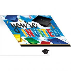 GRADUATION CELEBRATION INVITATION, FOLDOVER