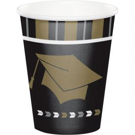 GLITZY GRAD HOT/COLD CUP, 9OZ