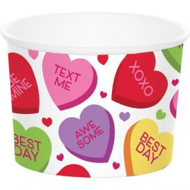 Valentine DÉcor Treat Cups Valentine Candy Hearts