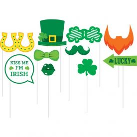 St Patrick's Day DÉcor Photo Props, St Pats Fun