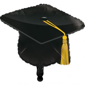 GRADUATION DÉCOR METALLIC BALLOON,22