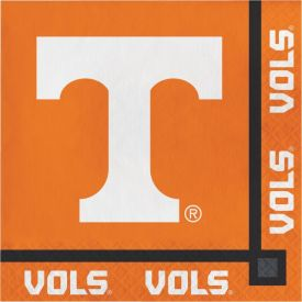 UNIV OF TENNESSEE, KNOXVILLE BEVERAGE NAPKIN