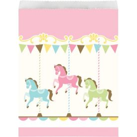 CAROUSEL PAPER TREAT BAG LG