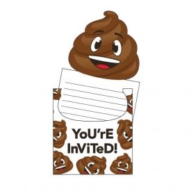 POOP EMOJIONS INVITATION POP-UP