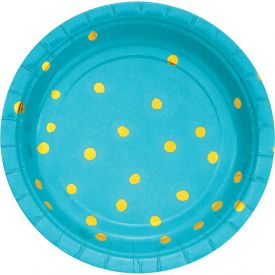 BERMUDA BLUE APPETIZER OR DESSERT PLATES 7