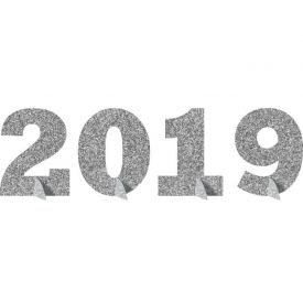 DECOR 2019 GLITTER STAND UP CENTERPIECE