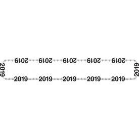 DÉCOR 2019 LETTER NECKLACE