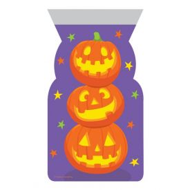 DÉCOR CELLO BAGS SHAPED STACKED PUMPKINS