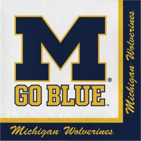 UNIVERSITY OF MICHIGAN LUNCH NAPKINS