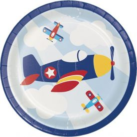 LIL' FLYER AIRPLANE LUNCHEON PLATE