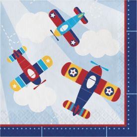 LIL' FLYER AIRPLANE LUNCHEON NAPKIN