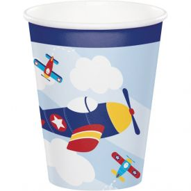 LIL' FLYER AIRPLANE HOT/COLD CUPS 9 OZ.