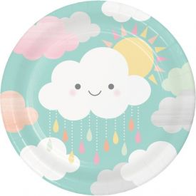 SUNSHINE BABY SHOWER DINNER PLATE