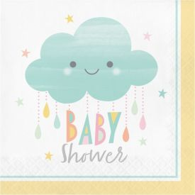 SUNSHINE BABY SHOWER LUNCHEON NAPKIN