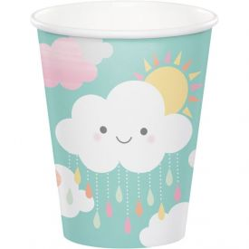 SUNSHINE BABY SHOWER HOT/COLD CUPS 9 OZ.