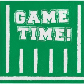 GAME TIME BEVERAGE NAPKIN
