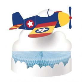 LIL' FLYER AIRPLANE CENTERPIECE HC SHAPED