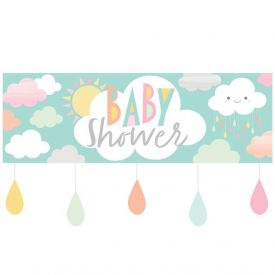 Sunshine Baby Shower Giant Party Banner W/ Att