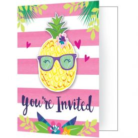 PINEAPPLE N FRIENDS INVITATION PSCD