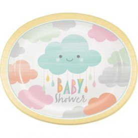 SUNSHINE BABY SHOWER OVAL PLATTERS