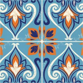 MOROCCAN TILE LUNCHEON NAPKIN, 3 PLY MOSAIC