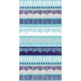 MEDITERRANEAN GUEST TOWEL, 3 PLY PATTERN