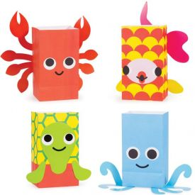Juvi Ocean Paper Treat Bags With Attachments