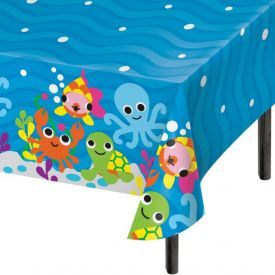 JUVI OCEAN PLASTIC TABLE COVERS ALL OVER PRINT 54