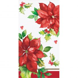 PERFECT POINSETTIA GUEST TOWELS